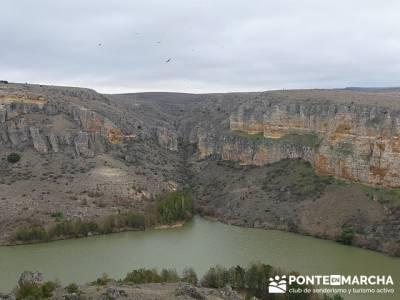 Hoz Río Duratón - Embalse de Vencías -- rutas por españa; pedraza velas